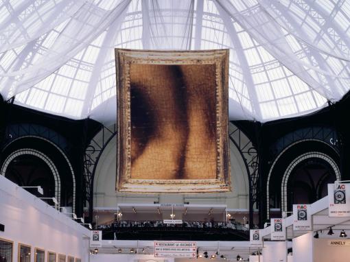 Bâche (7m x 9m)                                  Voûte du Grand Palais Paris