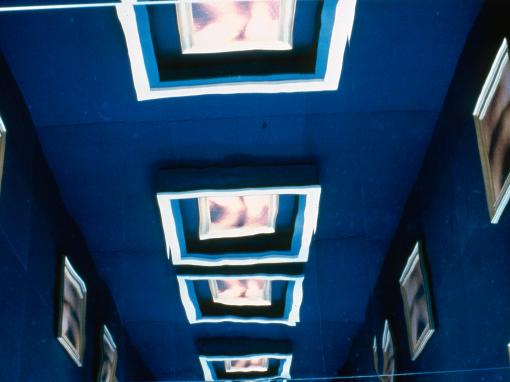 Musée national des beaux-arts du Québec                                                          Cabine aux miroirs, plancher