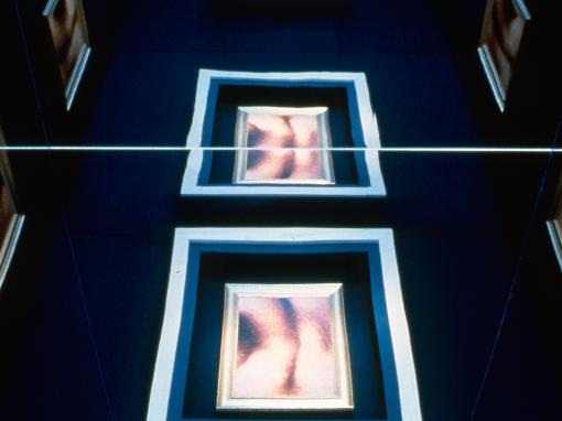 Musée national des beaux-arts du Québec                                     Cabine aux miroirs, plafond