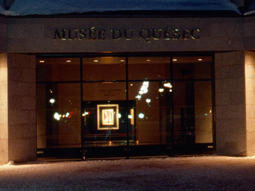 Musée national des beaux-arts du Québec                                                                                              Extérieur